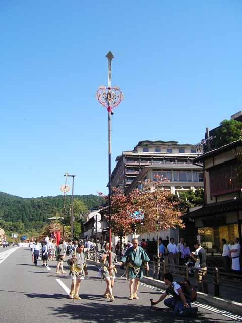 粟田神社 剣鉾
